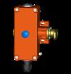 Bezpečnostní oboustranný lankový spínač do výbušného prostředí Ex ZS 75 S – 3D