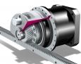 ZTRS-PH(A) pohon s ozubeným hřebenem