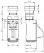 Koncový bezdrátový spínač RF 95 RT LR SW868