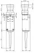 Koncový bezdrátový spínač RF 95 RT ULR SW868
