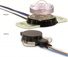 Magnetické úhlové senzory PRAS20 / PRAS 21 od ASM