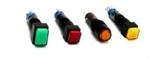 Miniaturní tlačítka a kontrolky řady A8 od IDEC