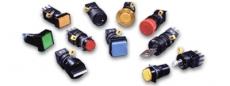 Miniaturní tlačítka, kontrolky a bezpečnostní nouzová tlačítka řady L6 od IDEC