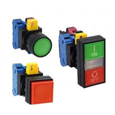 Tlačítka a kontrolky řady HW od IDEC
