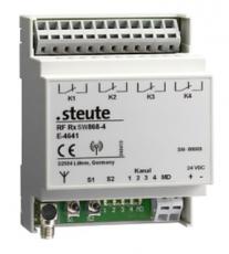 Přijímač bezdrátového signálu RF Rx SW868-4W