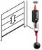 Varianta pro otevírání/zavírání elektricky ovládaných dveří, vrat a závor